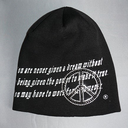 шапка с китайским знаком