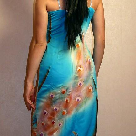 Авторский комментарий: Выкройка платья в японском стиле.